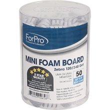 For Pro Mini Foam Board 120240 Grit, Zebra, 50 Count