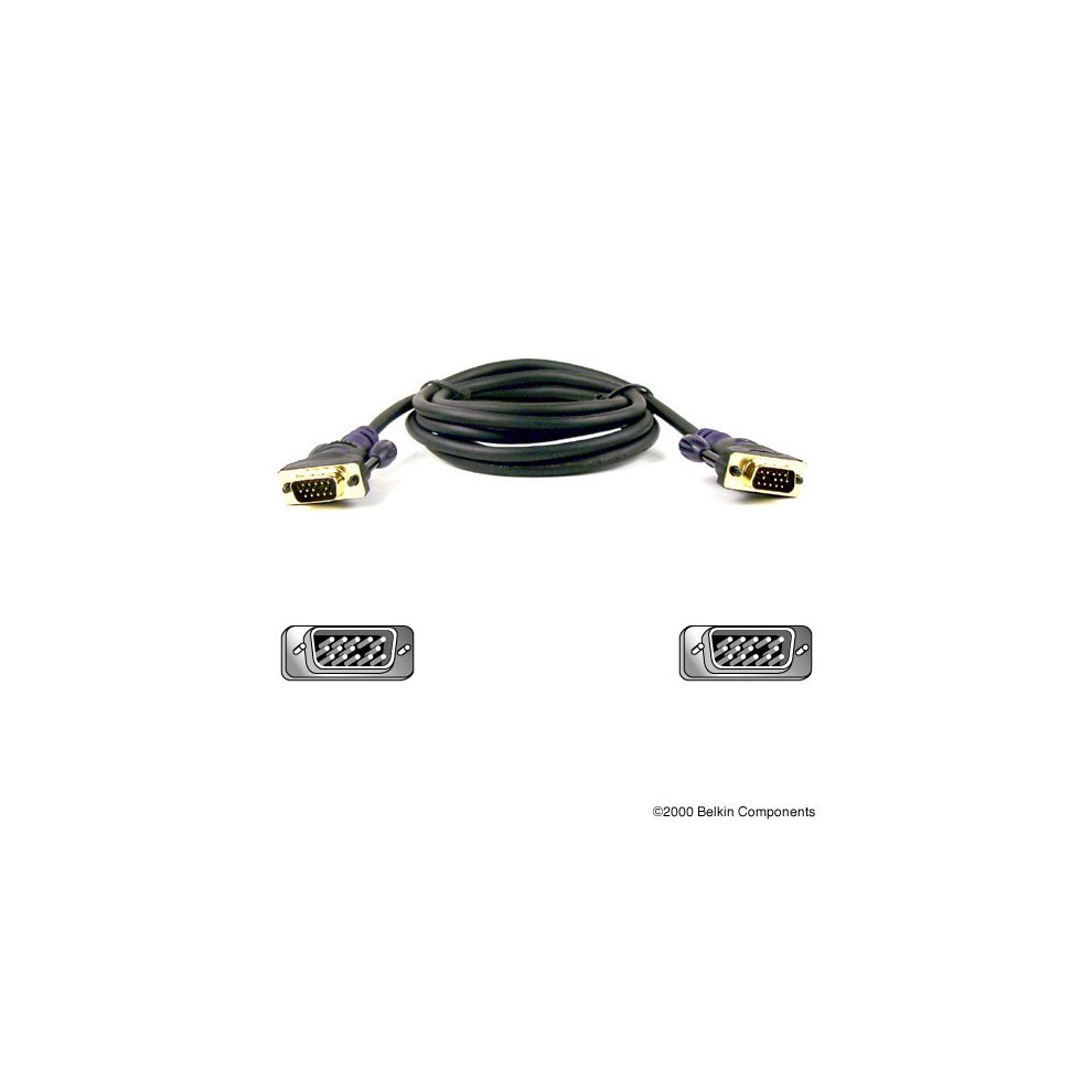 Belkin Gold Series VGA Monitor Signal Replacement Cable 5m on OnBuy