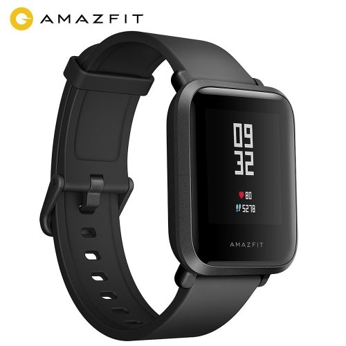 AMAZFIT Bip Smart Watch, Fitness Smartwatch with GPS, Real-time Heart Rate, Touch Screen, Waterproof Sport Fitness Watch and Sleep Tracker,...
