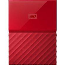 Western Digital My Passport 4TB 3.0 (3.1 Gen 1) 4000GB Red