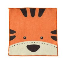 Cotton Kids Hanging Hand Towels, Fingertip Towels,Multipurpose,Tiger