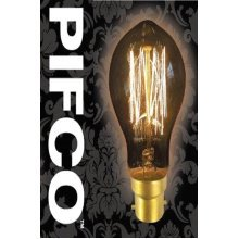 PIFCO GLS 40 Watt B22 Bayonet Vintage Mini Globe Retro Light Bulbs