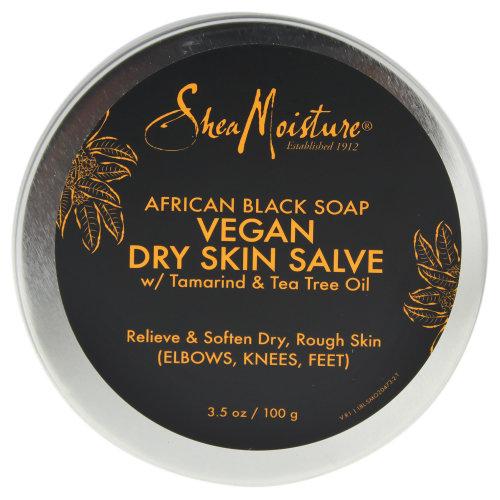 African Black Soap Vegan Salve Cream by Shea Moisture for Unisex - 3.5 oz Cream