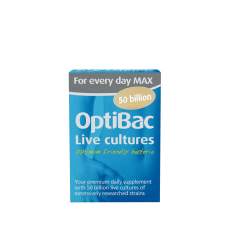 OptiBac Probiotics 'For every day MAX ', Pack of 30 Capsules
