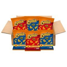 Walkers Cheetos Snacks Box, Assorted Flavors, Pack of 48