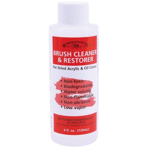 Winsor & Newton Brush Cleaner & Restorer-4oz