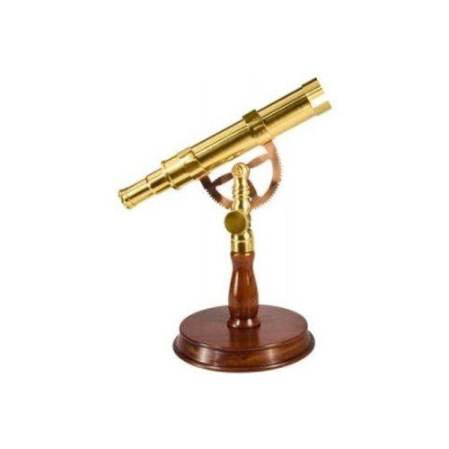 Barska Optics AA11126 6X30 Spyscope- Anchormaster w - Mahogany Desktop Pedestal