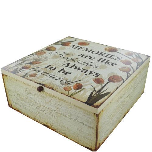 Memory Box Keepsakes Tulip Memories Are Like Keepsakes SG1848