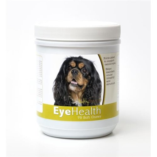 Healthy Breeds 840235144960 Cavalier King Charles Spaniel Eye Health Soft Chews - 75 Count