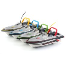 Micro Palm Size Remote Control RC Atlantic Yacht Racing Speed Boat Toy