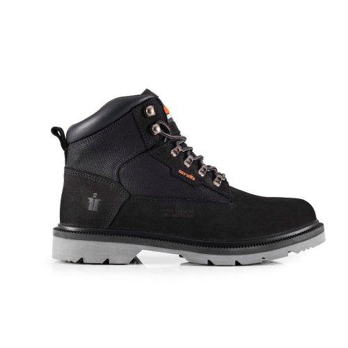 Scruffs TWISTER Safety Hiker Work Boots Black