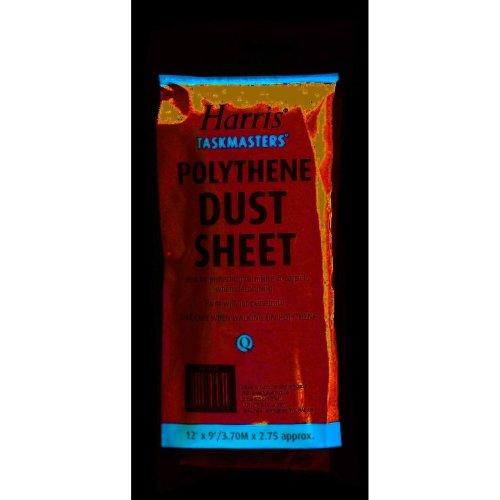 Harris Taskmasters 12'x9' Polythene Dust Sheet