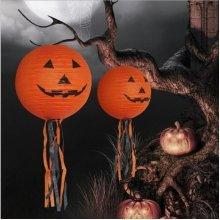 Vintage DIY Pumpkin Ghost Paper Lantern
