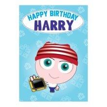 Birthday Card - Harry