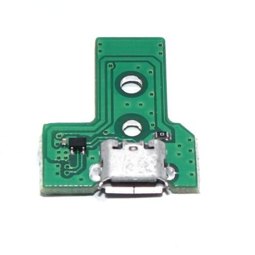 ZedLabz 12 pin V3 micro USB charging socket ic board for Sony PS4 controllers JDS-030