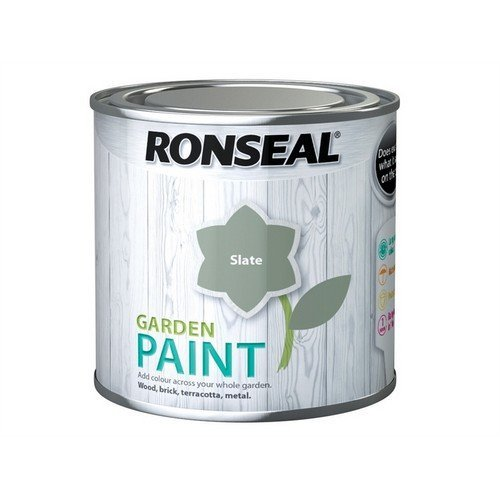 Ronseal 37384 Garden Paint Slate 250ml