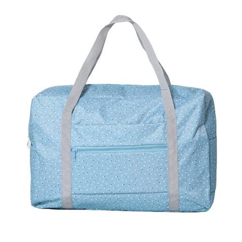 Foldable Travel Bag Lightweight Travel Luggage Bag for Women & Men, C