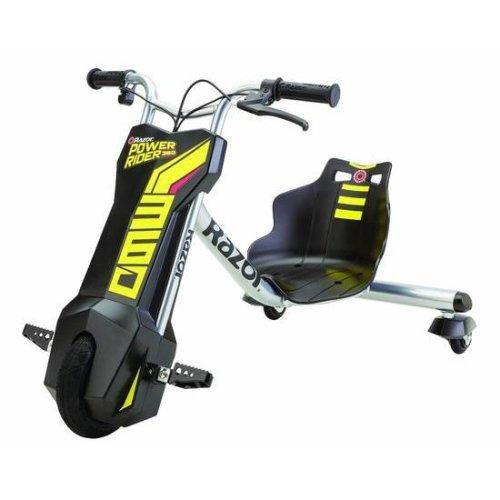 Razor Kids Power Rider 360 Three Wheeled Ride On - Black