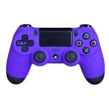 DualShock 4 Wireless Controller for PlayStation 4 - Soft Touch PS4 Remote - Added Grip for Long Gaming Sessions - Multiple Colors Available (Purple)