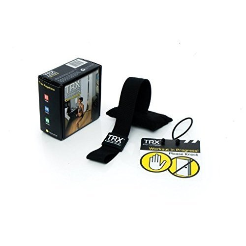 TRX Training - Door Anchor, Simple, Portable Anchor Attaches to Any Solid Door Without Damaging Pain or Wood