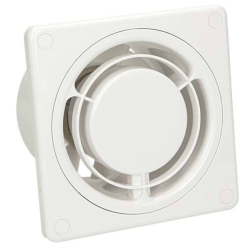 Low Energy Silent Kitchen Bathroom Extractor Fan 100mm Standard RING Ventilator
