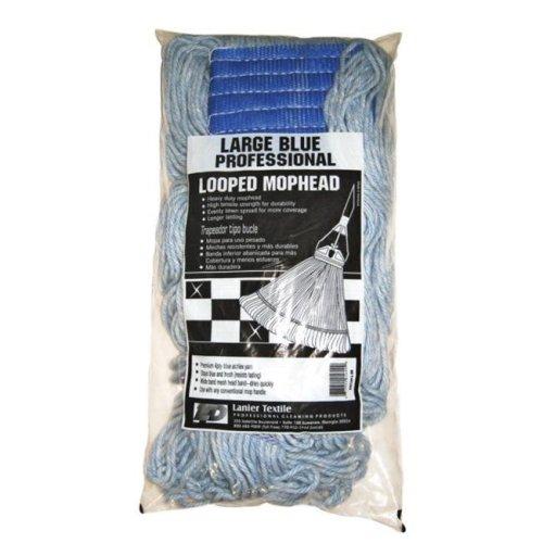 Lanier 113-LOOPED-BB Looped Mop Head  Blue - pack of 6
