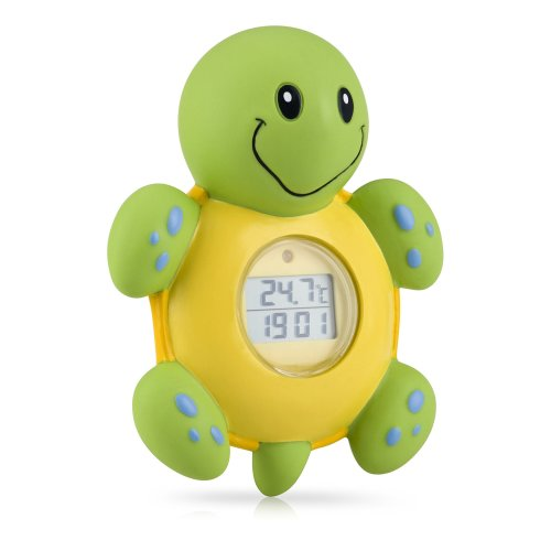 Nuby Turtle LCD Bathtime Clock and Thermometer Toy