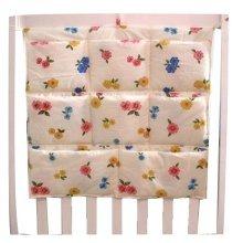 Creative Floral Infant Multilayer Bedside Pouch Diaper Bag Storage Bag