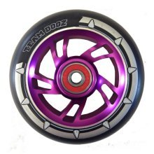 Team Dogz 100mm Alloy Swirl Wheels