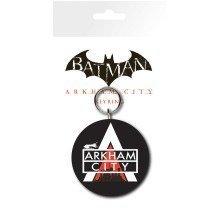 Batman Arkham City Logo Keyring
