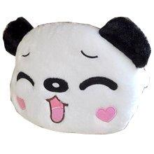 Cute Cartoon (Lovely Panda) Car Headrest/Car Neck Pillow (Happy Face--Girl)