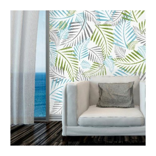 PALM LEAF Stencil Set of 3 Furniture Wall Floor Stencils for Painting