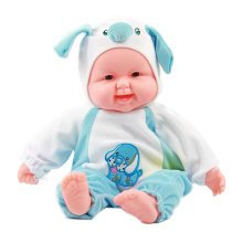 Lifelike Realistic Baby Doll/ Zodiac Doll/ Soft Body Play Doll, Dog Baby Doll