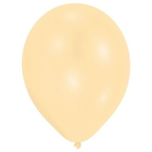 Pearl Ivory Latex Balloons - 22.8cm /10