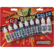 Jacquard Transparent Airbrush Exciter Pack .5oz 9/Pkg-