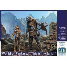 "Mas24011 - Masterbox 1:24 - World of Fantasy "" This is My Land """