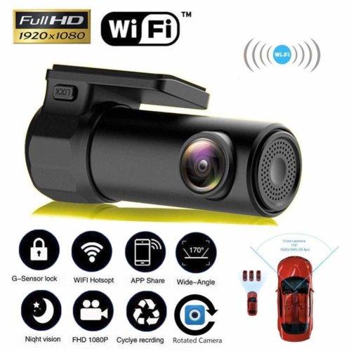 Smart WiFi Camera 170 Wireless 1080P Night Version Car Video Recorder