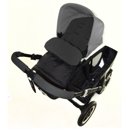 Footmuff / Cosy Toes Compatible with Phil & Teds Promenade Pushchair Black Jack
