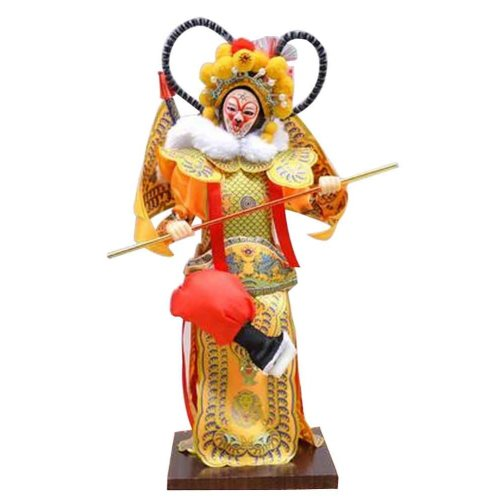 Traditional Chinese Doll Peking Opera Performer - Sun Wu Kong