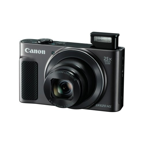 Canon PowerShot SX620 HS Digital Camera - Black | Optical Zoom Camera