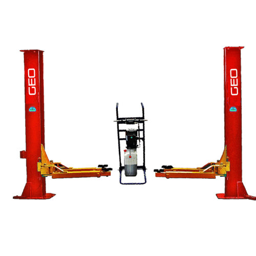 2.2 Metre High Columns Adjustable Width 3 Tonne 2 Post Lift
