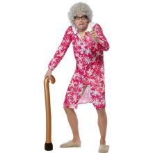 Brown Novelty Inflatable Walking Stick. - Stick Fancy Dress Old Up Granny -  inflatable walking stick fancy dress old up granny accessory blow