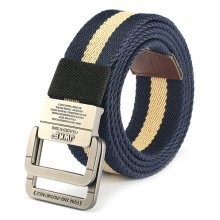 130CM Mens Outdoor Canvas Military Belt