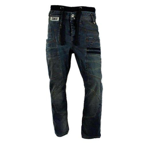 Henleys Men's Acton Carrot Fit Jeans Light Denim Wash