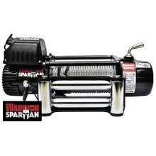 Warrior 12000 Spartan 12v Electric Winch with Synthenic Rope