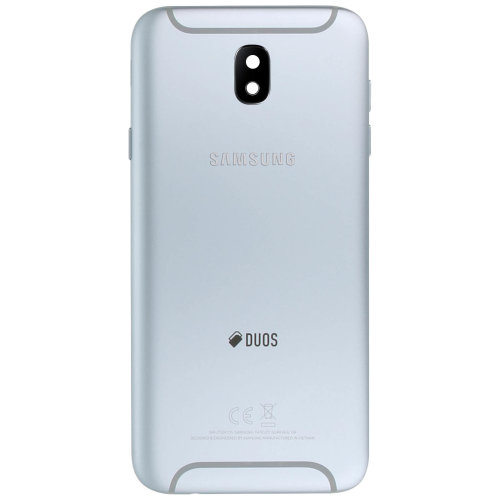 Housing part back cover, for Samsung Galaxy J7 2017 – Silver