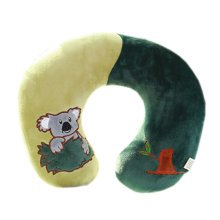 Mixed Colors U Shape Pillow Travel Neck Pillow, Koala Pattern