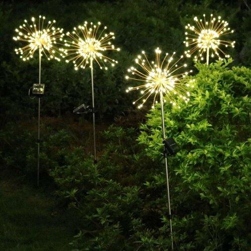 90 LED Starburst Solar Powered Stake Lights