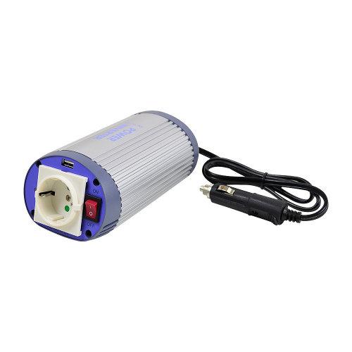 Voltage Inverter with USB Albrecht 150W 24V Code 47870