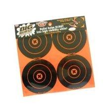 Birchwood Casey Big Burst 6-Inch Bulls-Eye, 12 - 6-Inch Revealing Targets
